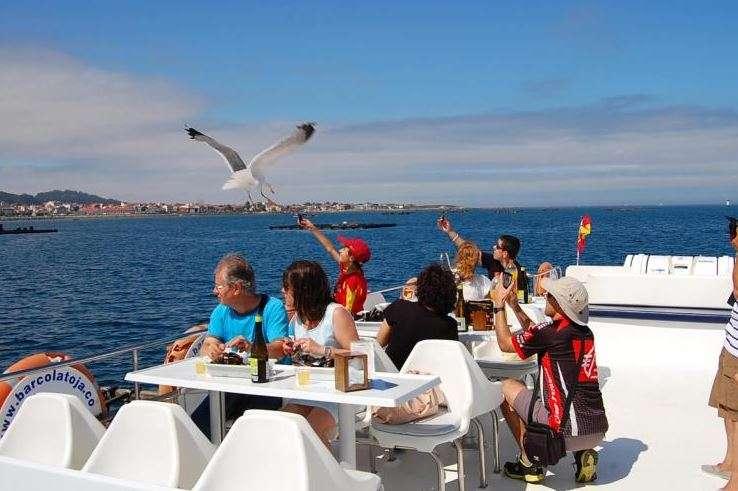 paseo barco galicia